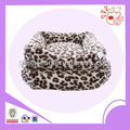 2013 Luxury plush leopard bed for pet