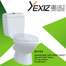 B1103 Bathroom toilet ceramic wc Middle East design chemical toilets for sale