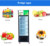 LVNI single door upright soft drink display fridge