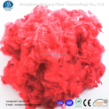 chemical red 15D chemica fibers in polymers in china