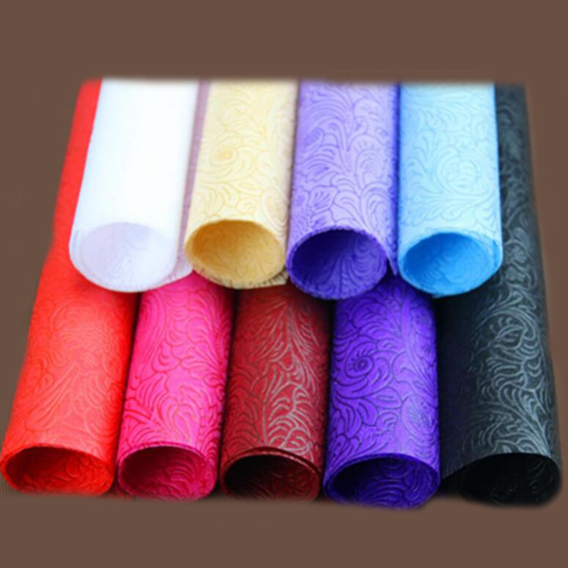 whosale non woven flower wrapping paper