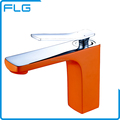 Hot Selling Fashionable Orange Printing Basin Faucet Sanitary