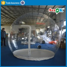 clear inflatable lawn tent for sale transparent bubble tent camping clear air dome