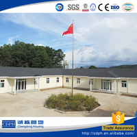 ISO certificate low cost good quality prefabricated house
