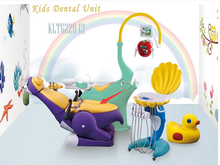 Colorful Kids Children dental chair,dental treatment unit for kids / Children dental chair similar good as fona dental chair