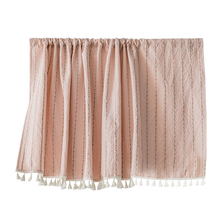 Zhejiang factory fancy cupboard small half doors kitchen window curtains with tassels