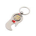 Metal Tourist Souvenir Engraved Keyring with Spinner I Love SIDE Turkey Bottle Opener Keychain