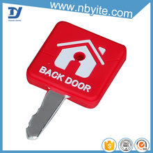 Oem factory eco-friendly newest personalized pvc key cover