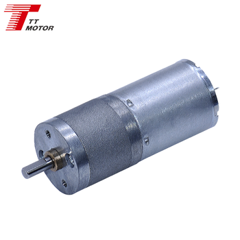 GM25-370CA China popular dc geared motor 12v 25mm