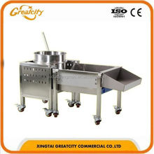 Automatic Chicken Nuggets Making Machine/Fish Chicken Popcorn Processing Line/Chicken Nuggets Machinery