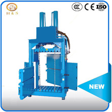 CE approved Stainless steel hydraulic cotton bale press machine