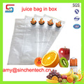 bib bag in box for juice packing