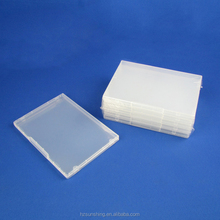 high quality plastic storage case dvd case without dvd hub