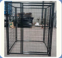 Black Powder Coated Outdoor Welded Wire Mesh Dog Kennel /Dog Run Fence Panel