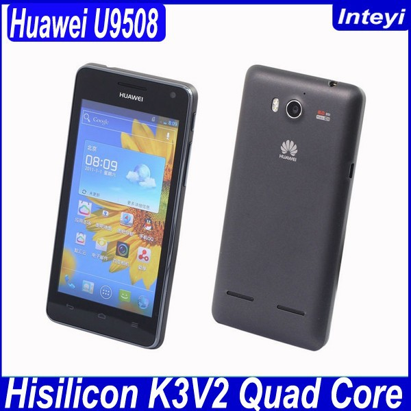 "Original 4.5"" Huawei U9508 Honor 2 Mobile Phone Android 4.1 Hisilicon Hi3620 Quad Core 2GB RAM 8MP Camera"