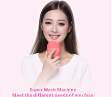 as seen on tv face wash electric beauty machine silicone massager waterproof skin cleansing silicone brush