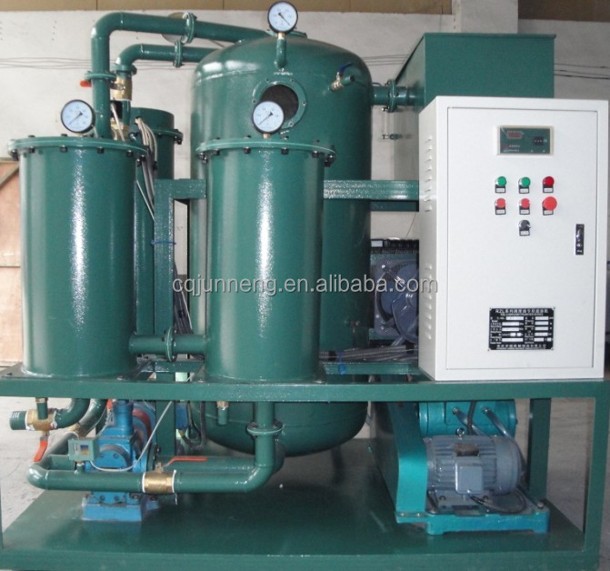 RZL-B Vacuum Dehydration System For Used Motor Oil Purification Regeneration Plant