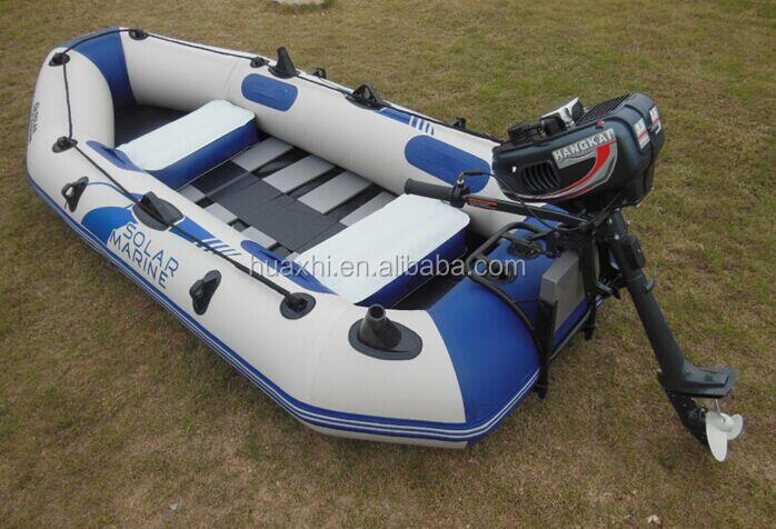 Noiseless electric trolling motor fishing boat