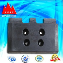 high performance fexible epdm cushion/railway track rubber pad/railway sleepers rubber