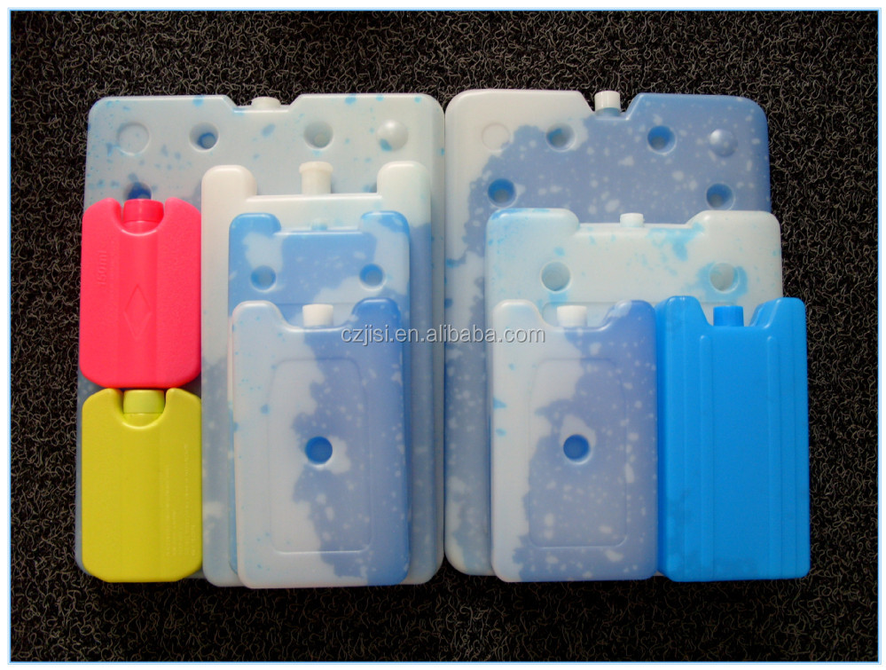 OEM PVC gel beads ice pack cold packs plastic ice cooler box with SAP material inside cooling beverage cold box big