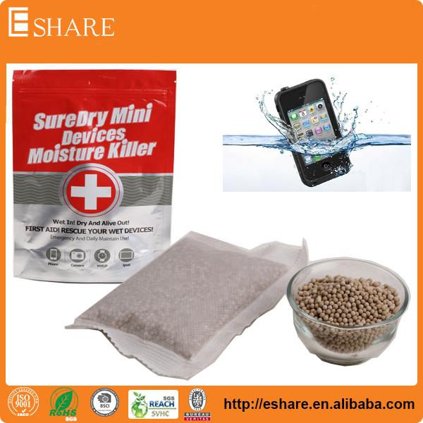 SureDry OEM Dehumidifier Bag For Dry Wet Mobile Phone