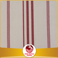 100% cotton sateen stripe hotel bedding textile fabric for bedding , hotel textile
