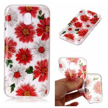 2017 New Soft TPU Silicone Candy Frosted Back Cover Phone Case For Samsung Galaxy J3 J5 J7 2017