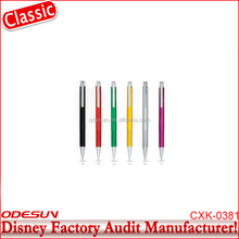 Disney Universal NBCU FAMA BSCI GSV Carrefour Factory Audit Manufacturer soft grip promotional carabiner ballpoint pen