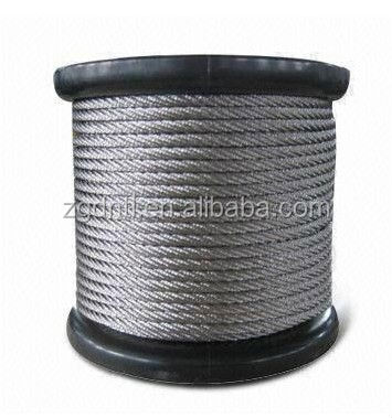 high tensile stainless steel wire rope 10mm