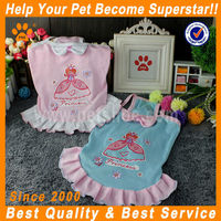 JML High qulity beautiful pink/blue pet clothes dogs clothing