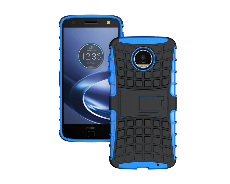 New Products 2017 Dual Layer TPU+PC Heavy Duty Protective Mobile Waterproof Phone Back Cover Cases for Moto Z Force
