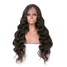 Raw unprocessed 9A virgin human hair wigs brazilian hair full lace wig with baby hair