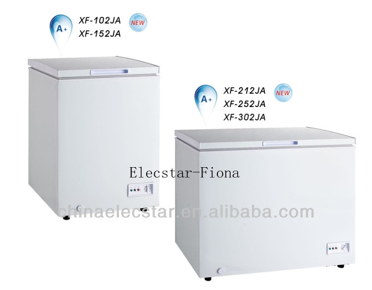 White Color Top Open chest freezer , BD/BC Single temp top open outdoor ice chest freezer 01