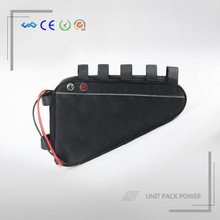 hot selling triangle style e-bike battery 48v 20ah lithium ion battery with USB discharge port