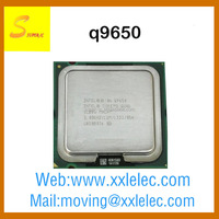 new product q9650 intel cpu core 2 Quad processor 775 socket cpu