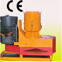 19t Flat die 300-400kg per hour small family use small machine for to make the pellet in home heating