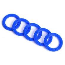 glass jar teflon seal ring or silicone o rings