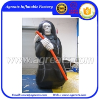 Halloween inflatable witch model for advertising or decoration S8006