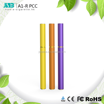 Colorful rechargeable vape starter kits similar to lighter pcc JSB A1-R work for cbd oil