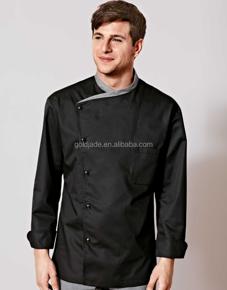 Fashion long/short sleeve chef coat high quality kitchen workwear cooking chef jackt
