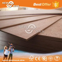 18mm Commercial Plywood Price / Packing Plywood / Marine Plywood