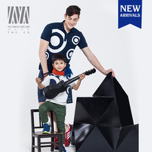 Winter warm family clothing sets formaldehyde free father and son matching clothing