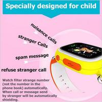 Brand new pedometer bracelet quad band kids gps tracking device emergency gps watch phone