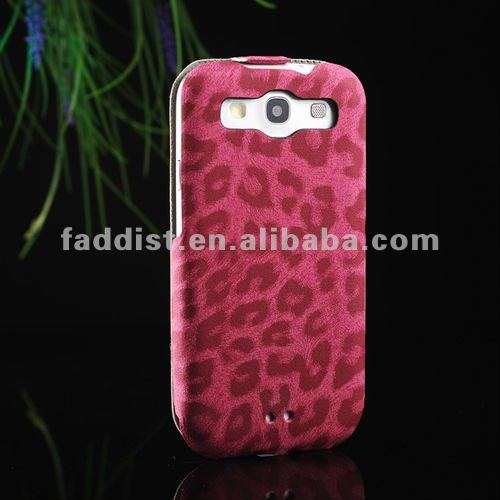 mobilephone case for Samsung galaxy S3 i9300 ulra thin case leopard pattern