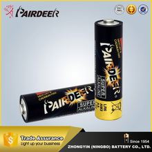 Wholesale factory supply max powerful lr6 pencil battery