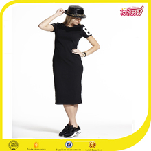 Black pictures of long skirts and tops designer one piece party dress cotton frock designs