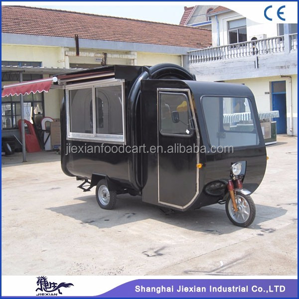 JX-FR220GH Fast food truck / Bike mobile food cart / Coffee vending bike