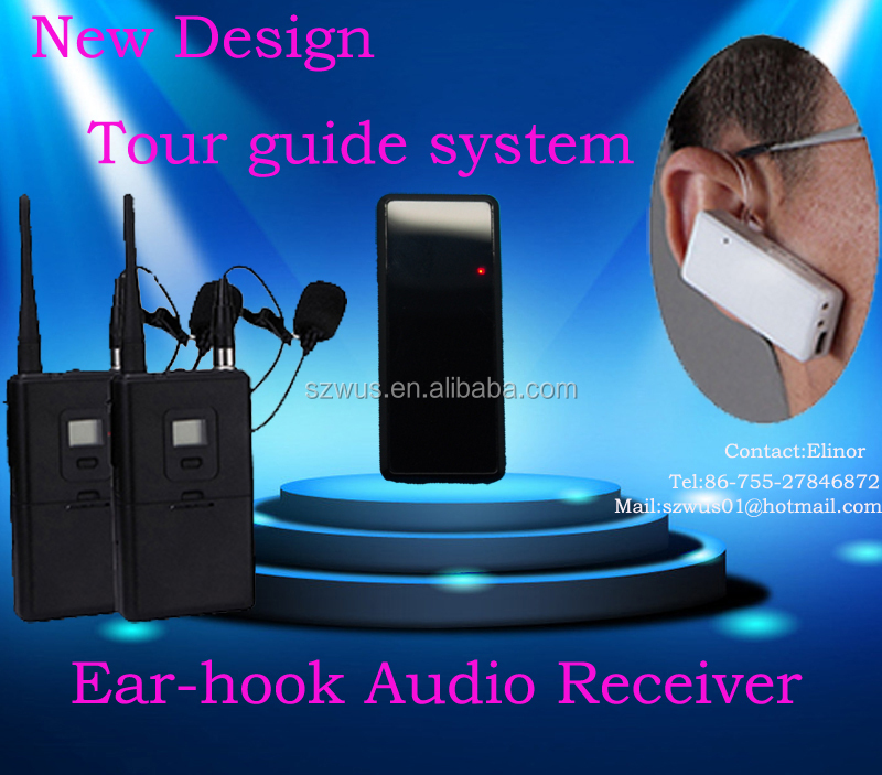 2.4G wireless tour guide system/radioguide/audio guides for visiting museum/training/government/hajj/meeting/church