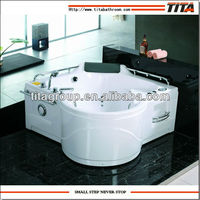 jet whirlpool bathtub with tv TMB019