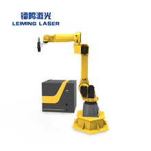 China supplier 1000W\2000W\3000W 3D robot laser welding machine with low price
